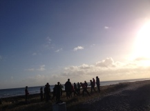 Beach stop